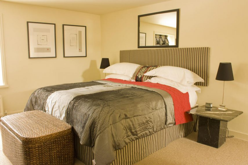 Double bedroom at The Tankerville Arms
