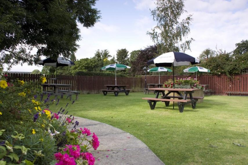 Garden at The Tankerville Arms