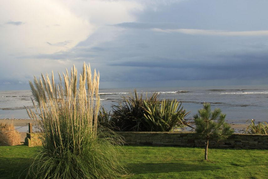 Cable Cottage seafront view