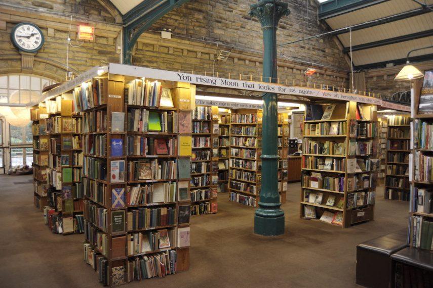 Barter Books - Column Room