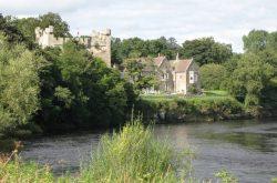 Bywell Castle open garden
