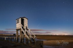 Holy Island refuge & meteor shower (Calum Gladstone)