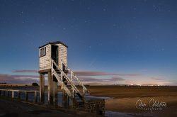 Holy Island refuge & meteor shower (Calum Gladstone)