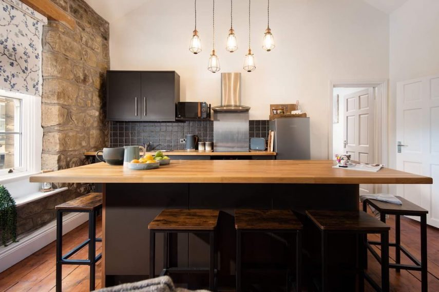 Dining room at The Loft, Alnwick